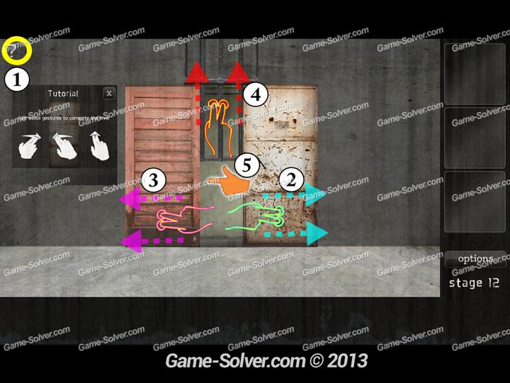 Dark Doors Escape Stage 12 Game Solver