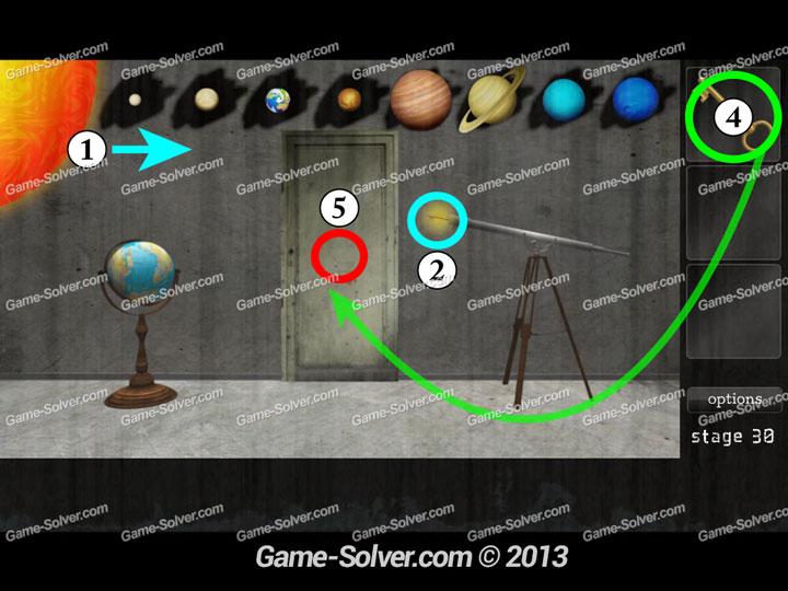 Dark Doors Escape Stage 30 Game Solver