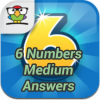 6 Numbers Medium Answers