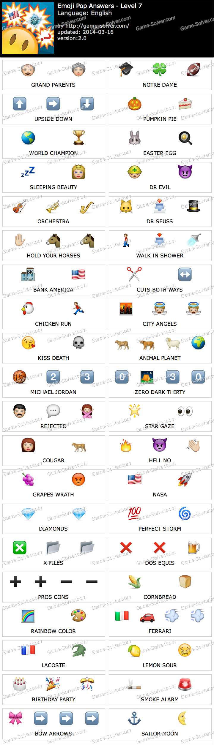 Emoji Pop Level 7