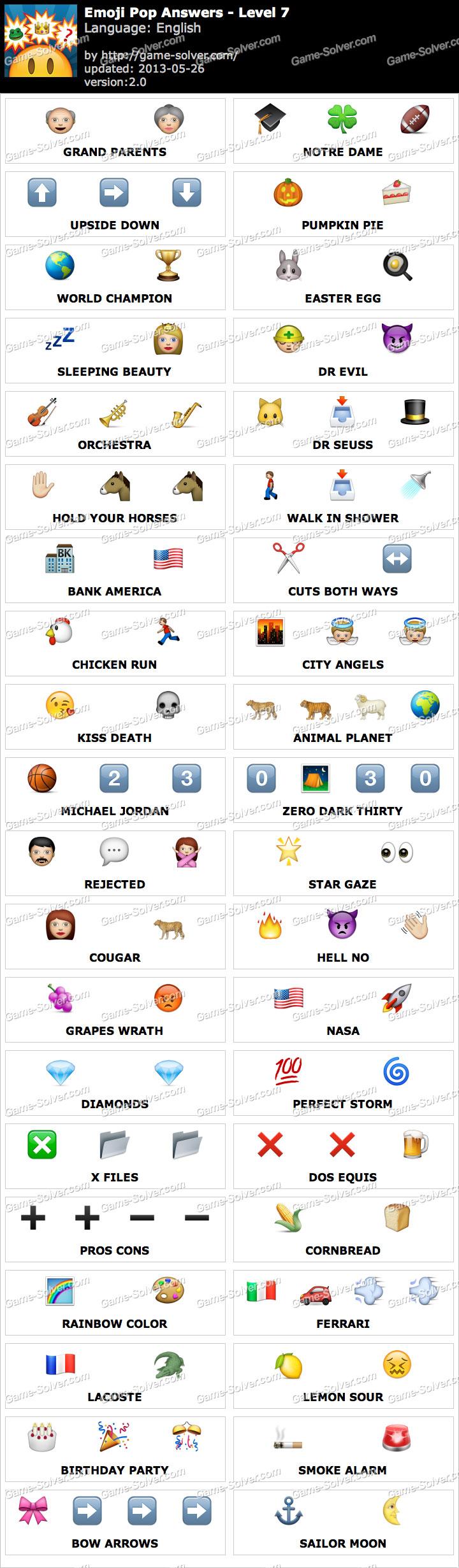 Emoji Pop Level Game...
