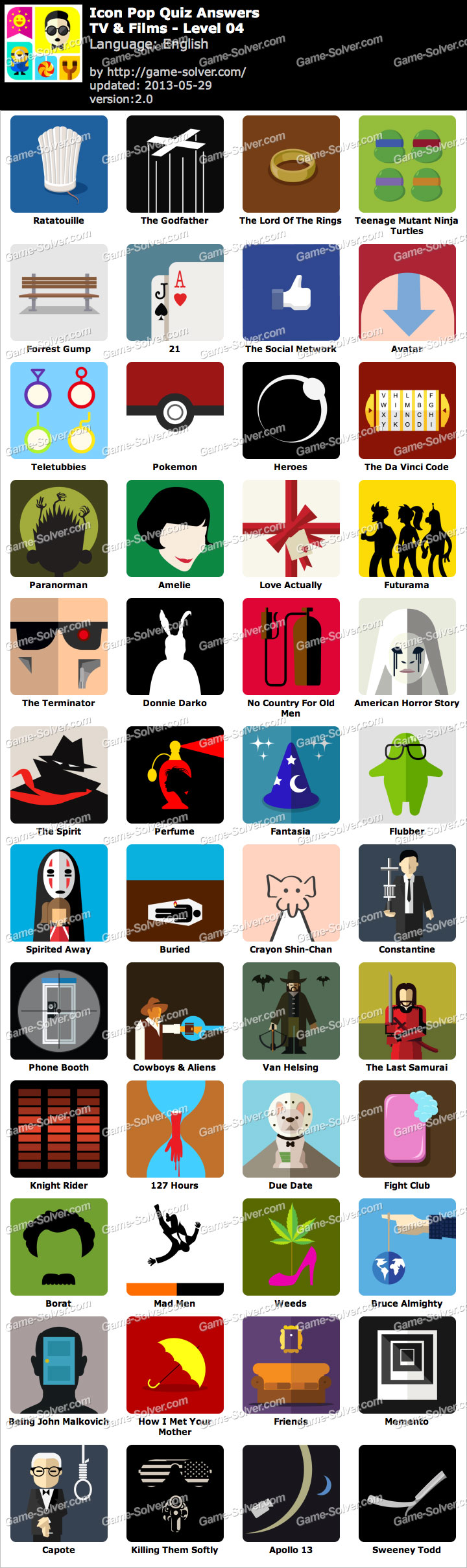Displaying 20> Images For - 100 Pics Movie Logos Answers...