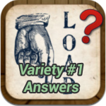 What's the Saying Variety 1 Answers