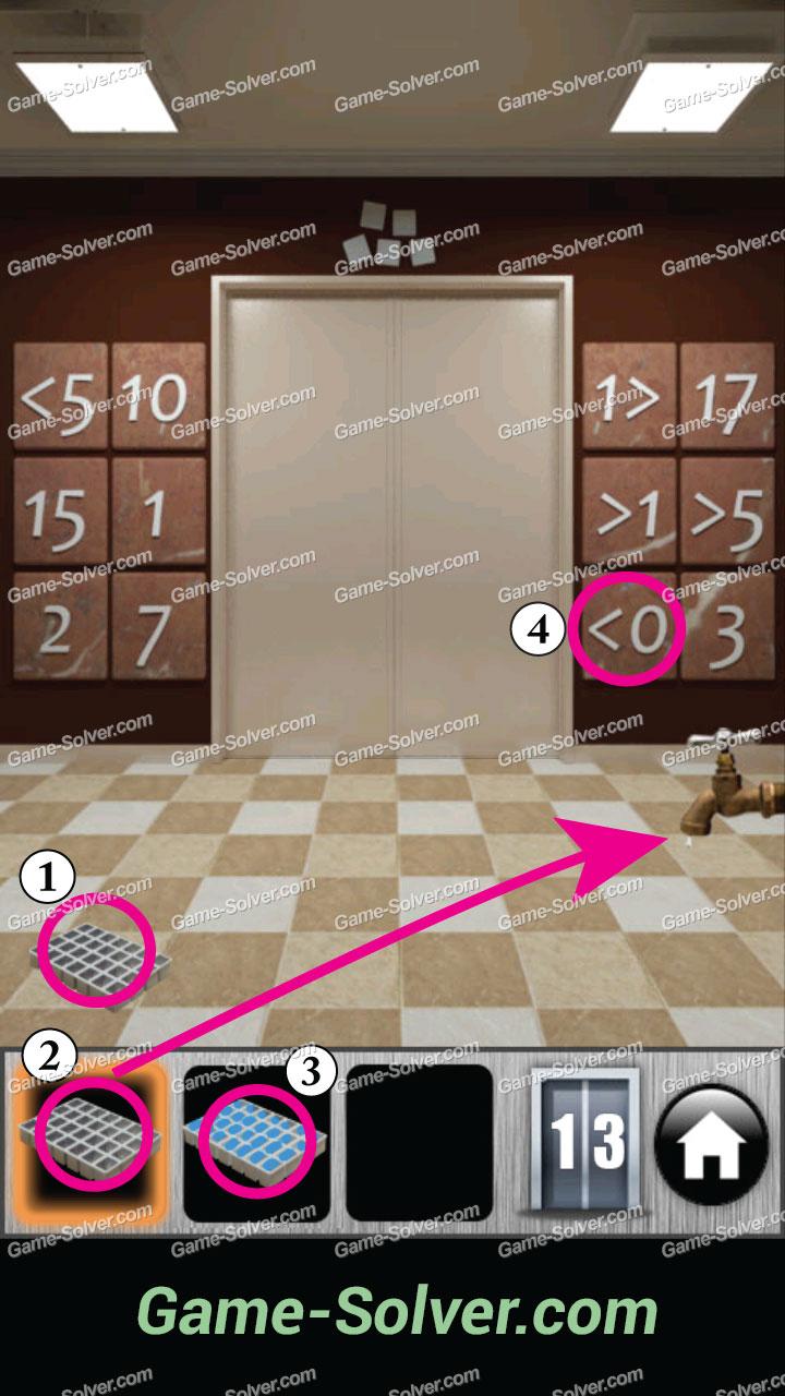 100 Doors 2013 Level 13 & 100 Doors 2013 Level 13 - Game Solver