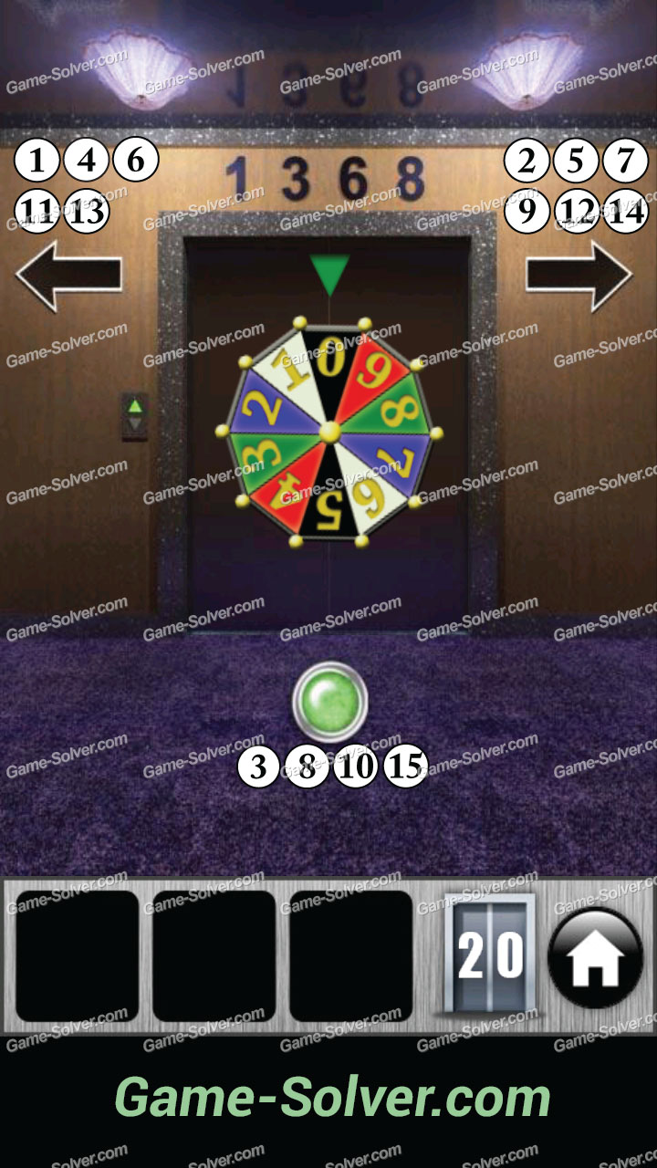 100 Doors 2013 Level 20  sc 1 st  Game Solver & 100 Doors 2013 Level 20 - Game Solver