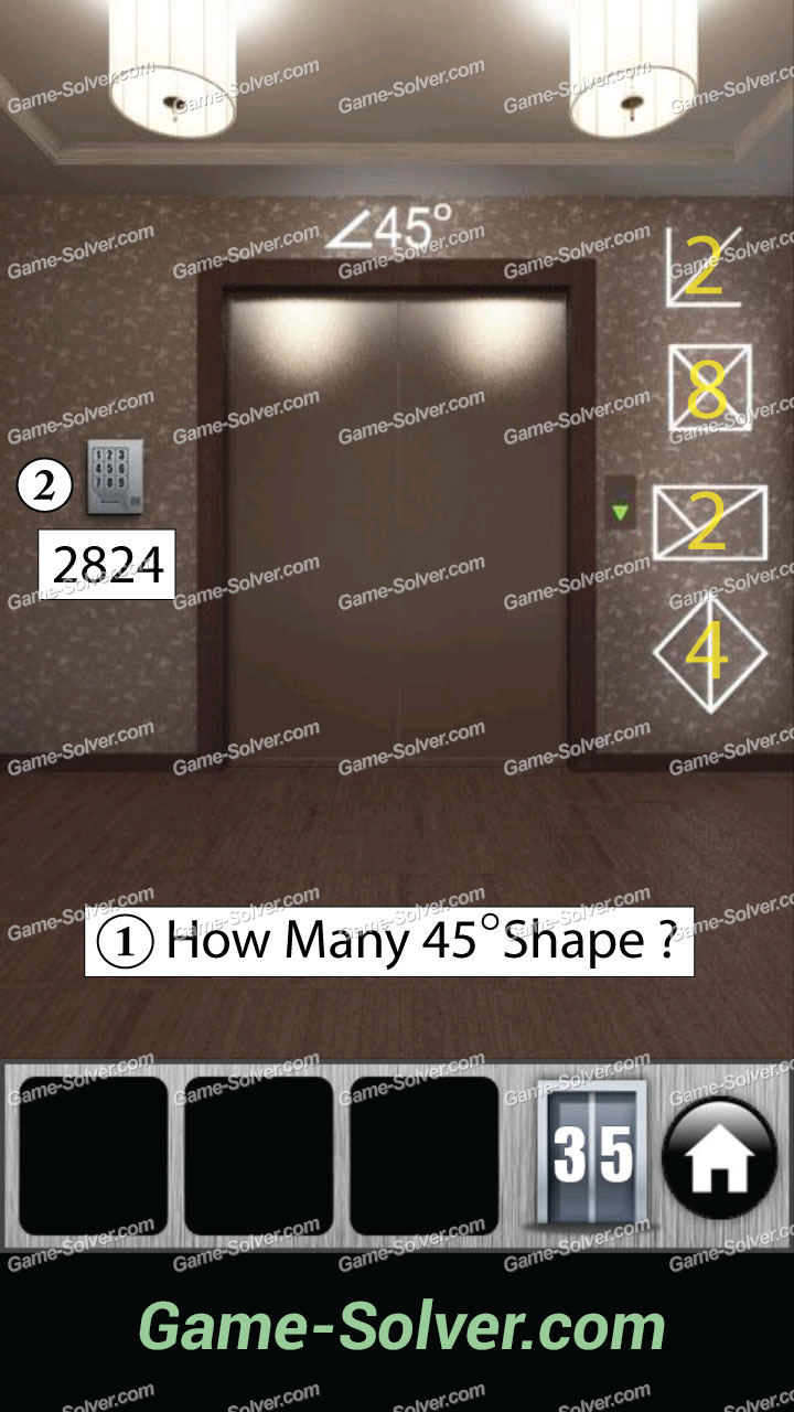 100 doors 2013 walkthrough android level 38 for Door 4 level 21