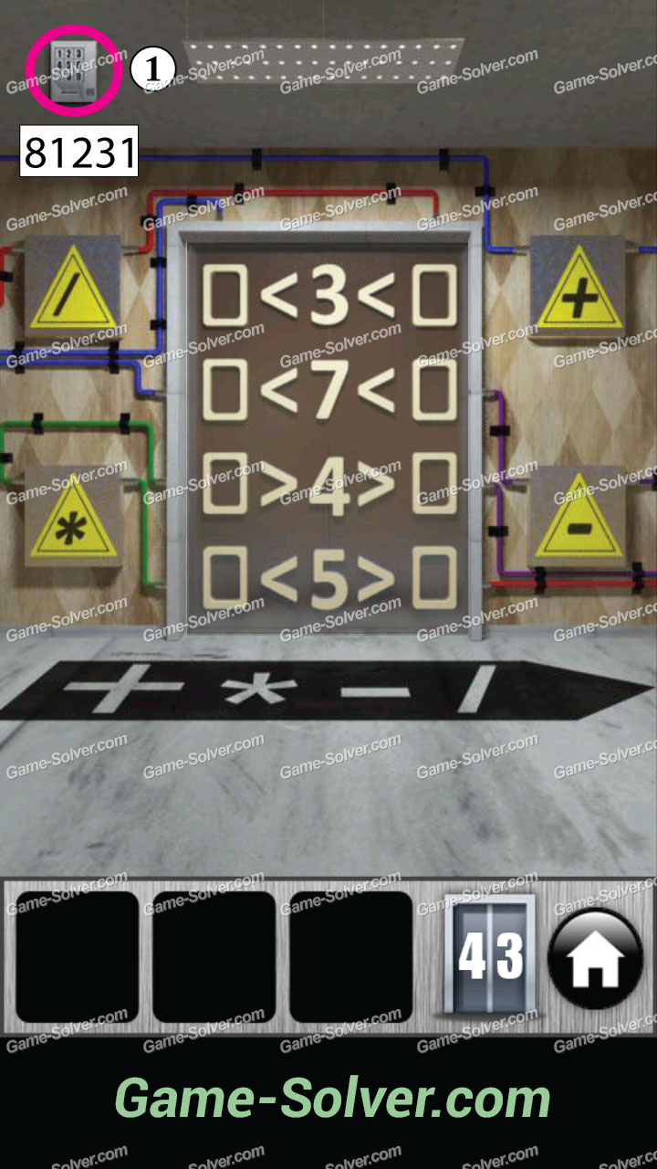 100 doors 2013 level 43 game solver for 100 doors door 43