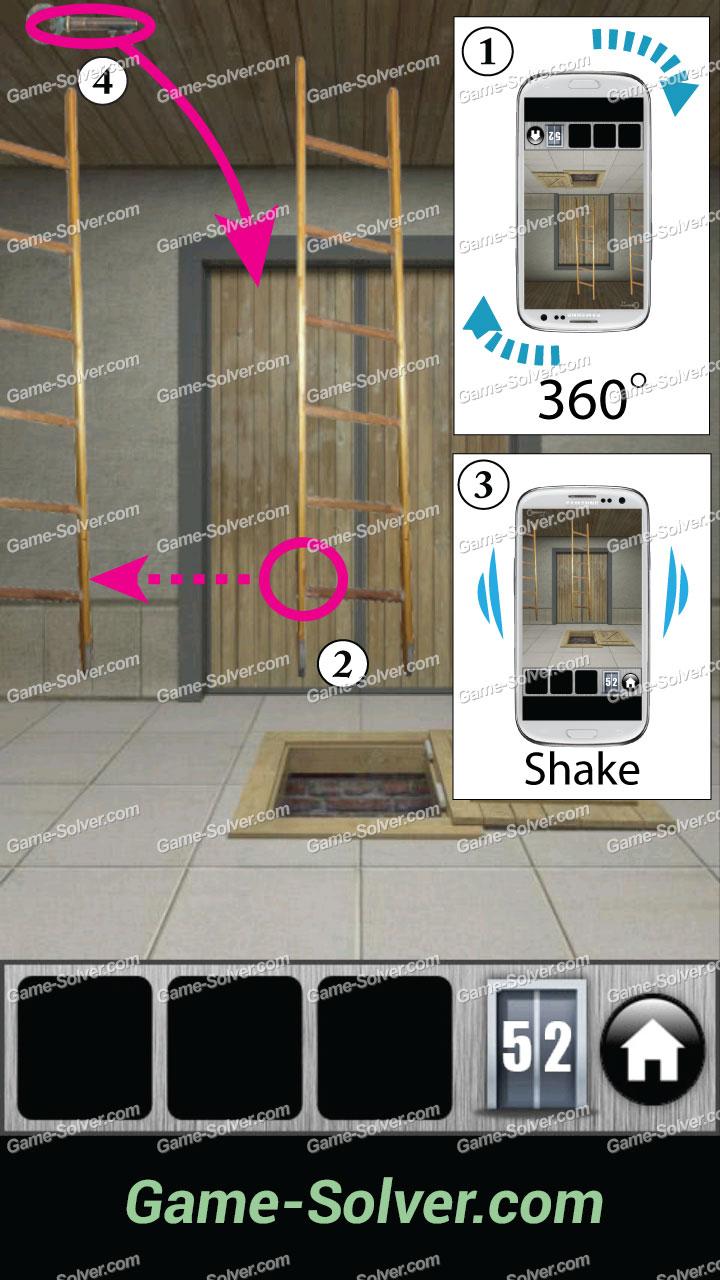 100 Doors 2013 Level 52 - Game Solver