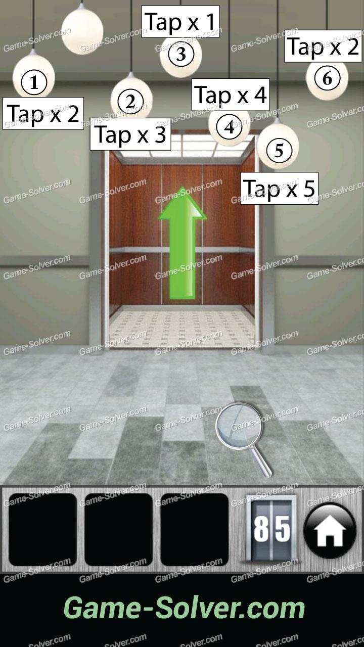 100 Doors 2013 Level 85 Game Solver