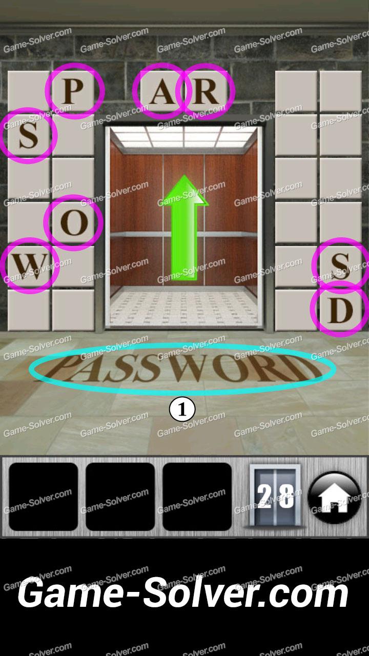 100 doors runaway level 28 game solver for 100 door 28
