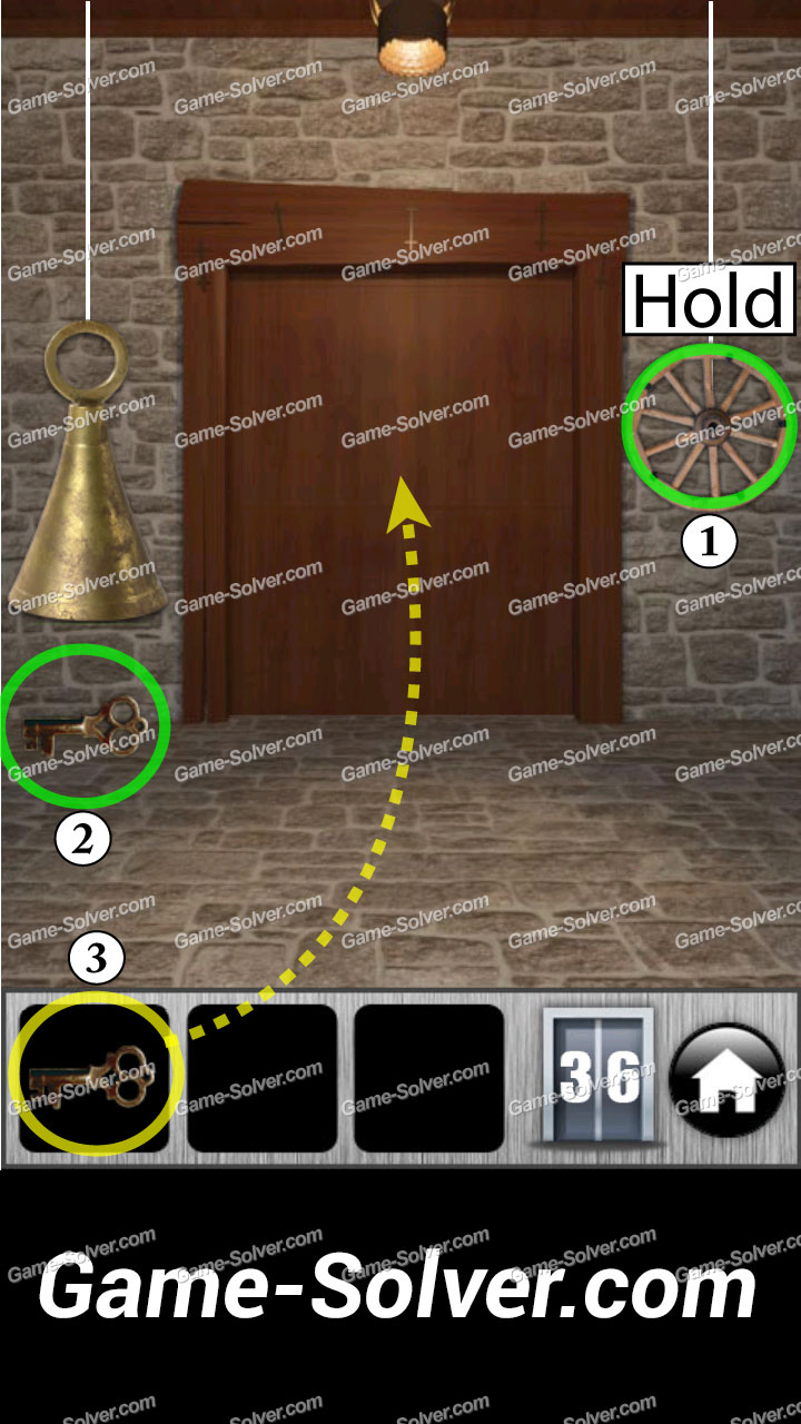 100 Doors Runaway Level 36 & 100 Doors Runaway Level 36 - Game Solver