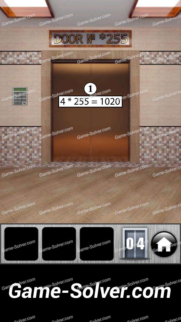 100 doors runaway level 4 game solver for 100 doors door 4 solution
