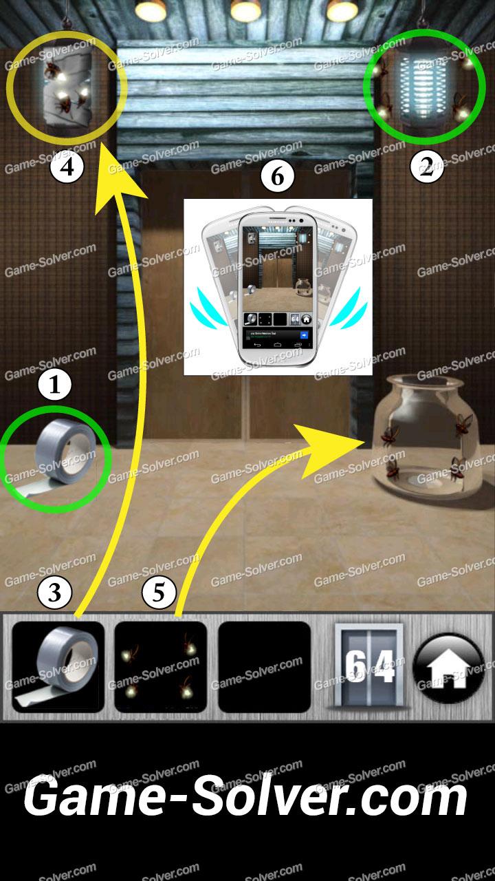100 doors runaway level 64 game solver. Black Bedroom Furniture Sets. Home Design Ideas