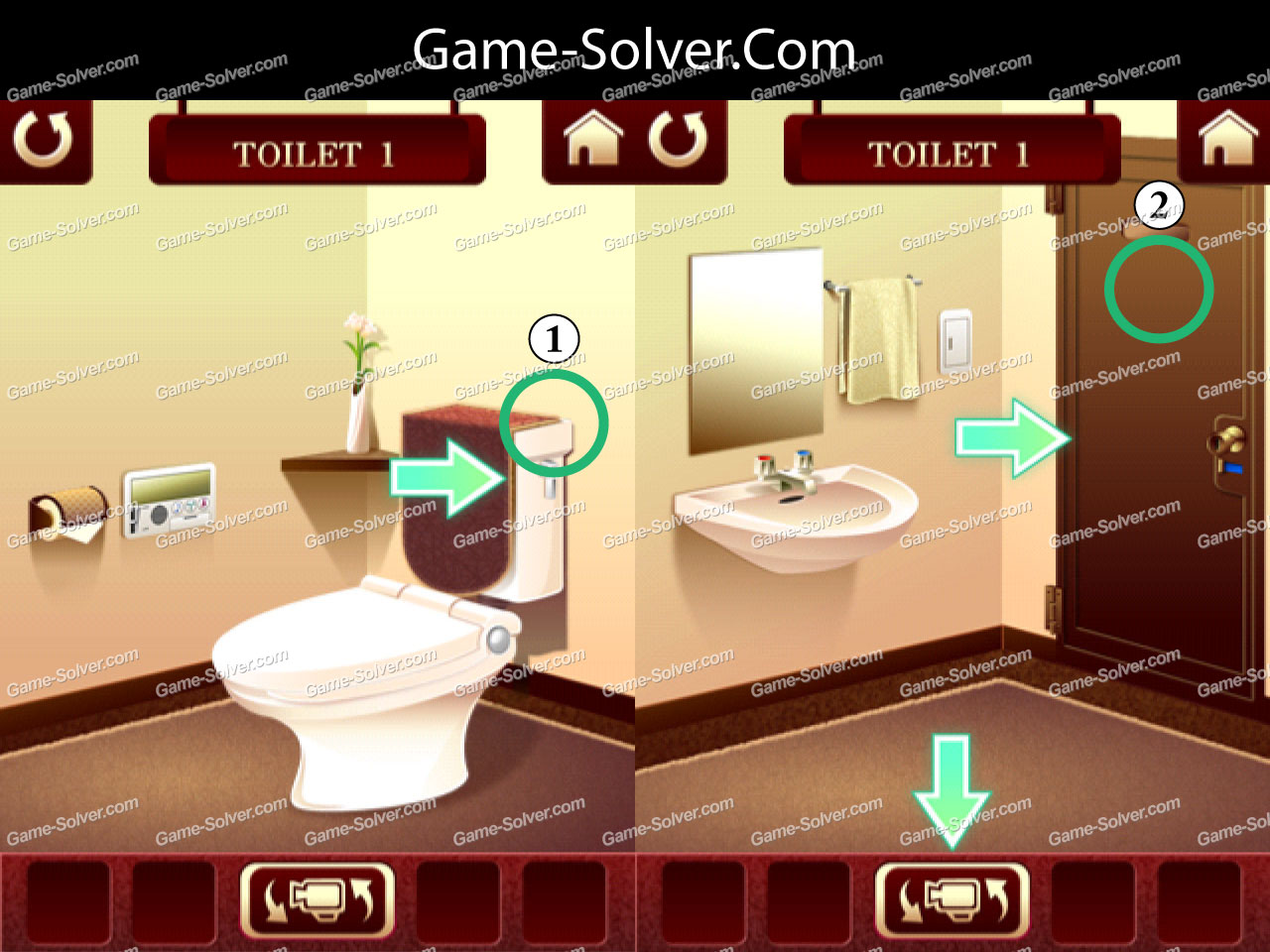 Escape The Bathroom Pro Walkthrough 100 toilets walkthrough - game solver