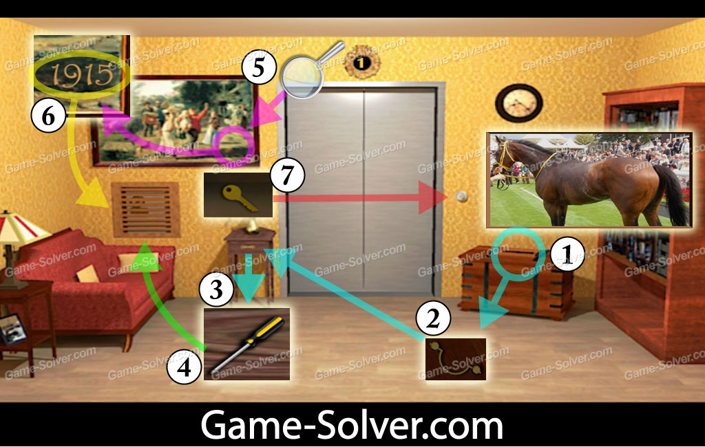 Can You Escape Walkthrough Game Solver