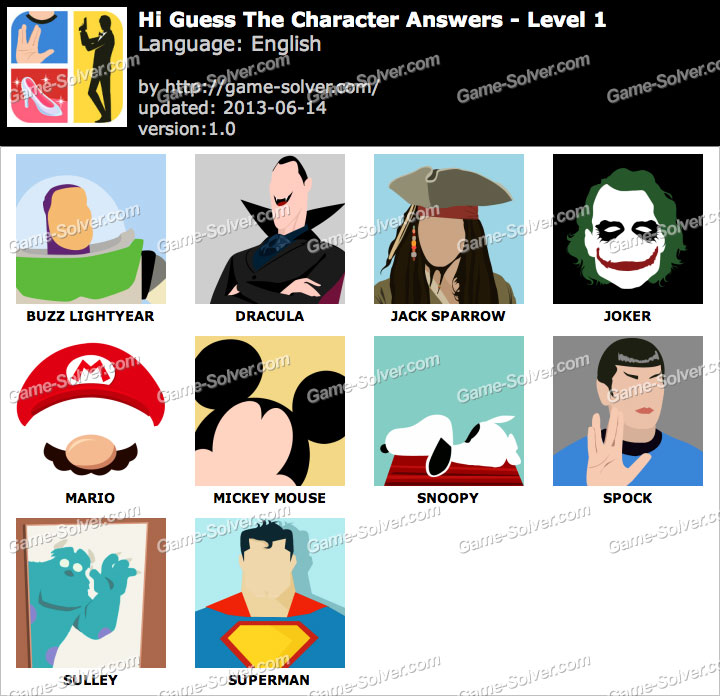 Cartoon Characters Level 6 : Guess the cartoon character answers level adultcartoon