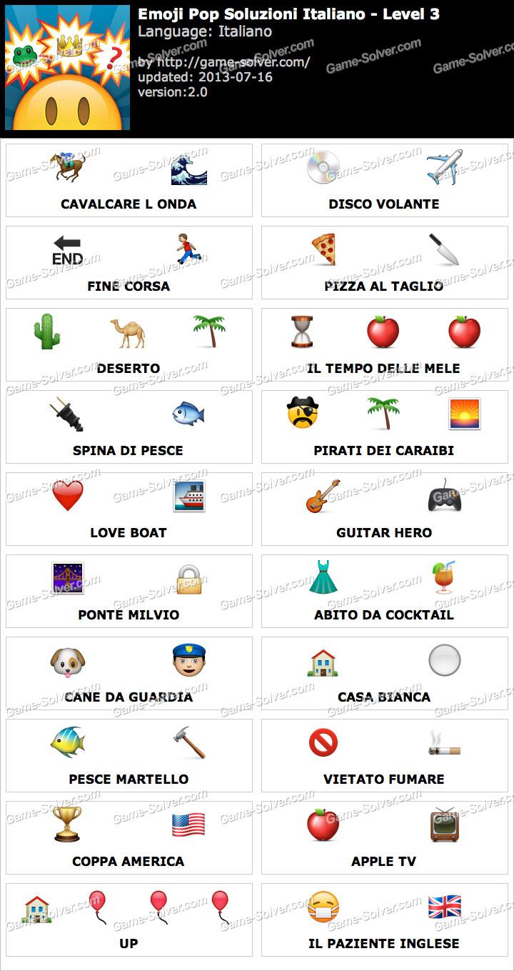 emoji pop livello 3