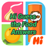 Hi Guess the Food Answers