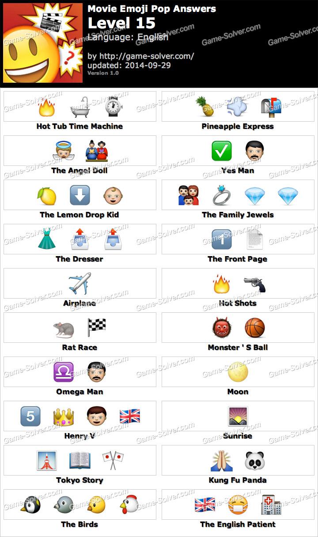 Emoji Movie Level 3 Movie Emoji Pop Level 15