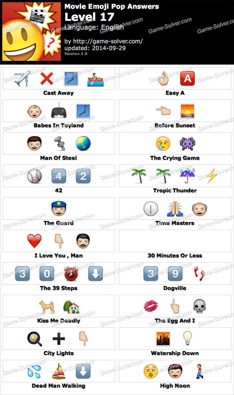 Emoji Movie Level 3 Movie Emoji Pop Level 17