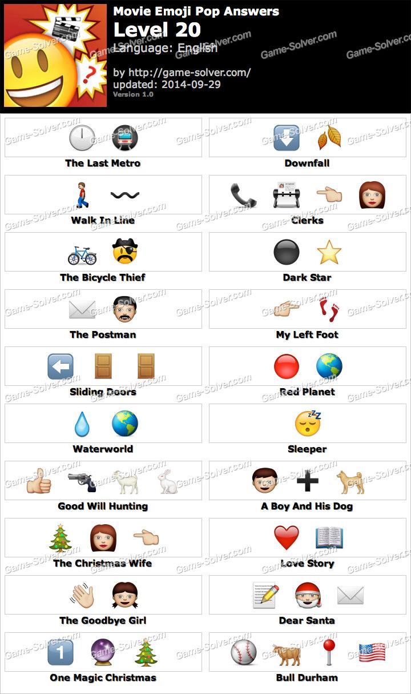 Emoji Movie Level 3 Movie Emoji Pop Level 20