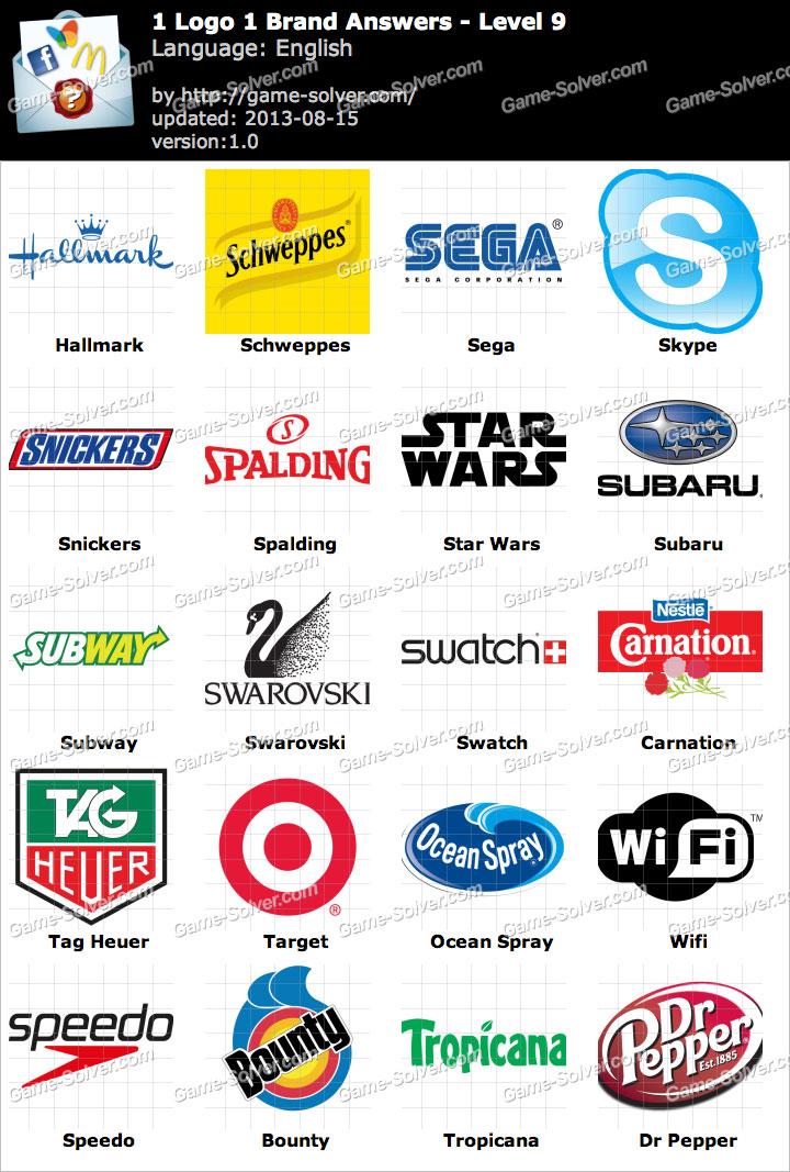 1 Logo 1 Brand Level 9