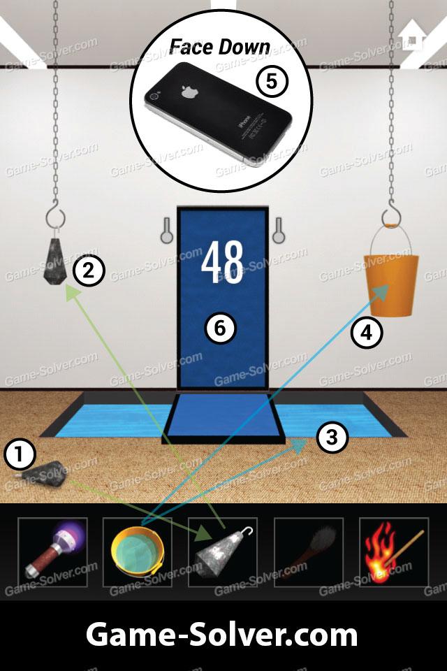 Dooors Level 48 - Game Solver