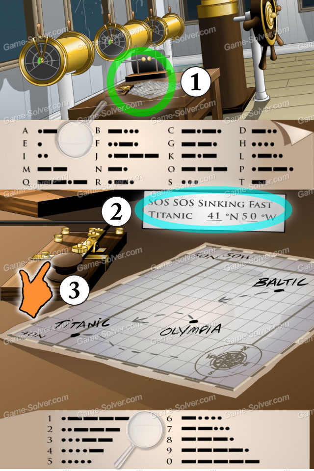 Escape The Titanic Level 28 Game Solver