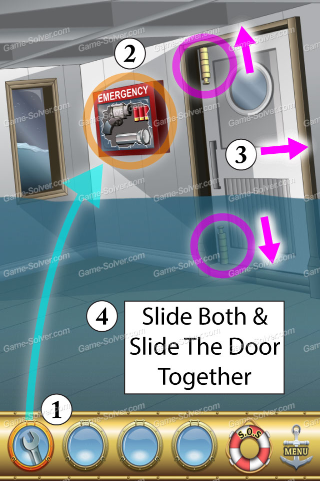 Escape The Titanic Level 29 Game Solver