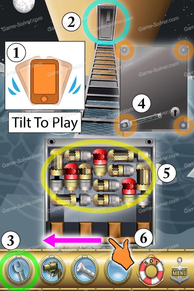 Escape The Titanic Level 30 Game Solver