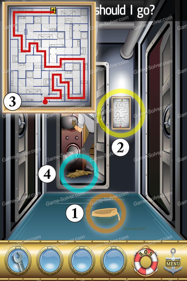 Escape The Titanic Level 8 Game Solver