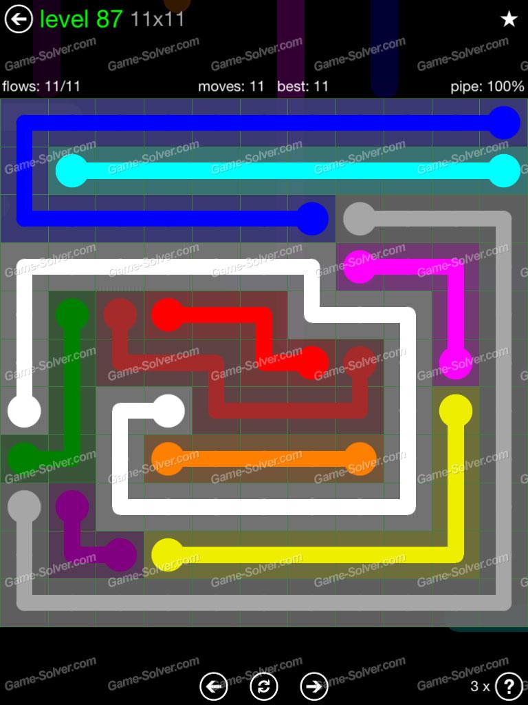 Flow 11x11 Mania Level 88
