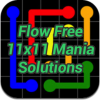 Flow 11x11 Mania Solutions