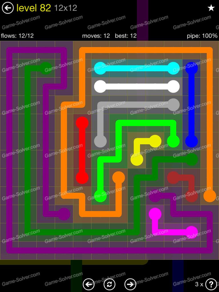 Flow 12mania Pack Set 12x12 Level 3: Flow 12×12 Mania Level 82