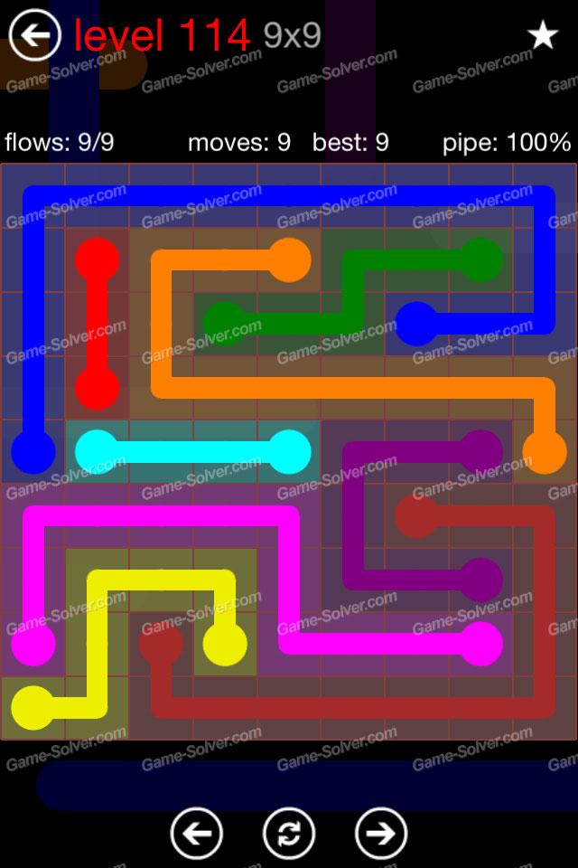 Flow 9x9 Mania Level 114