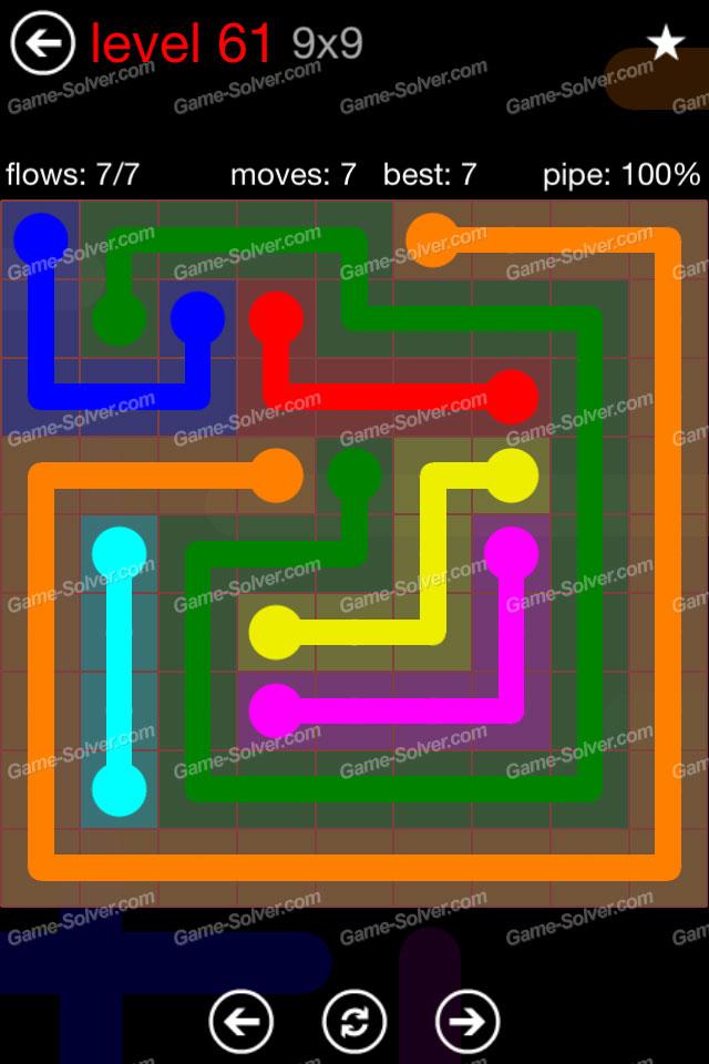 flow 9 9 mania level 61 game solver