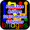 Flow Bridges 10x10 Mania Solutions