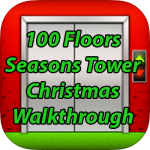 100 Floors Seasons Tower Christmas Walkthrough