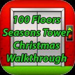 100 Floors Seasons Tower Christmas Walkthrough