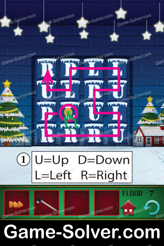 100 Floors Free Christmas Level 2