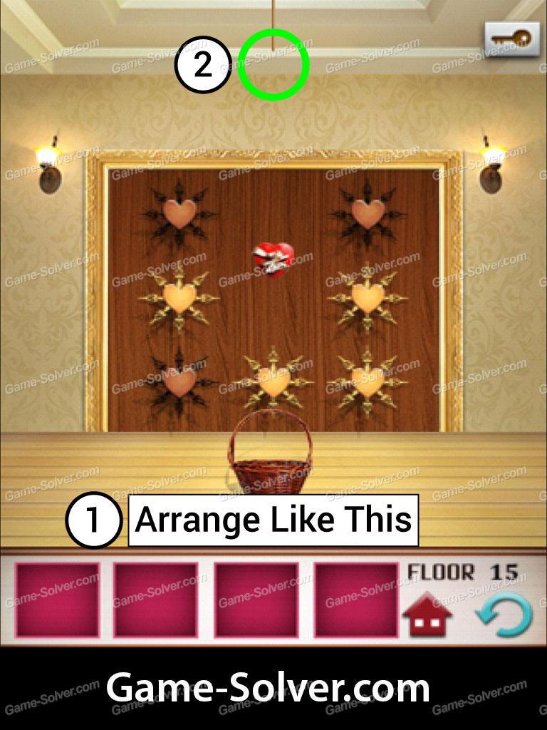 100 Floors Seasons Tower Valentines Level 15 Game Solver