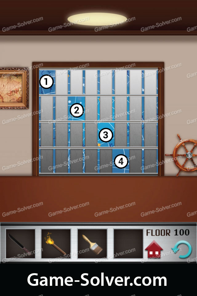 100 floors level 100 game solver for 100 levels floor 34