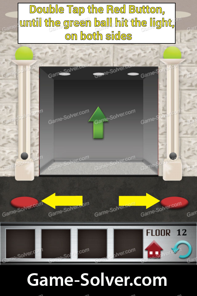 100 floors level 12 game solver For12th Floor On 100 Floors