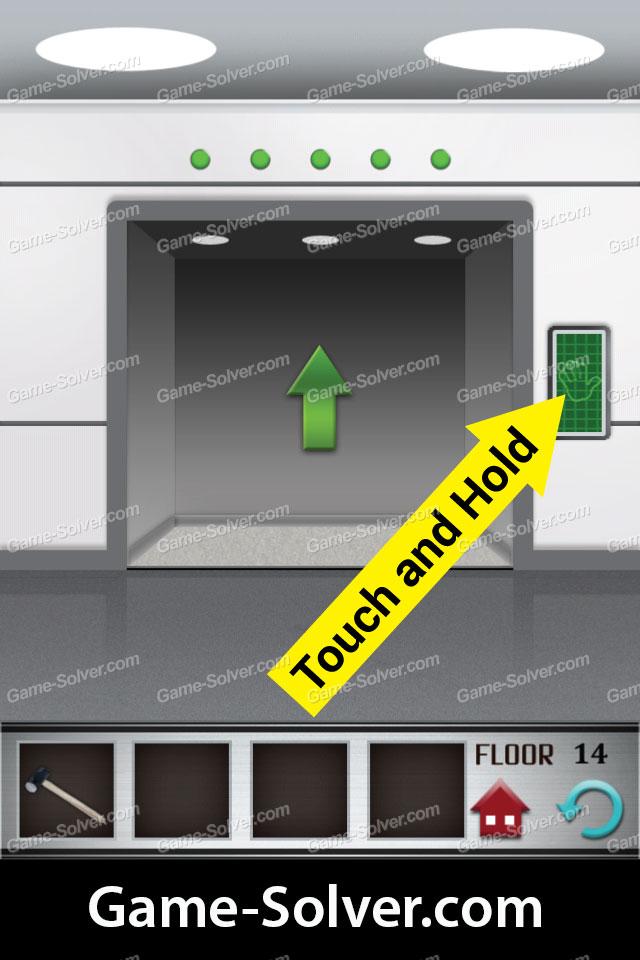 100 Floors Level 14 Walkthrough