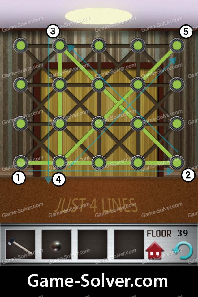 100 floors level 39 game solver For100 Floor 39