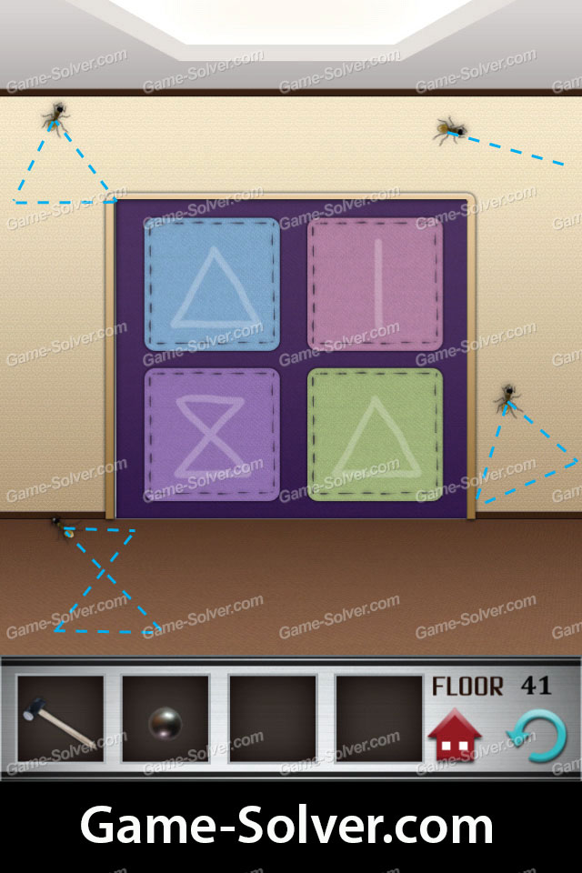 100 Floors Level 41 Game Solver