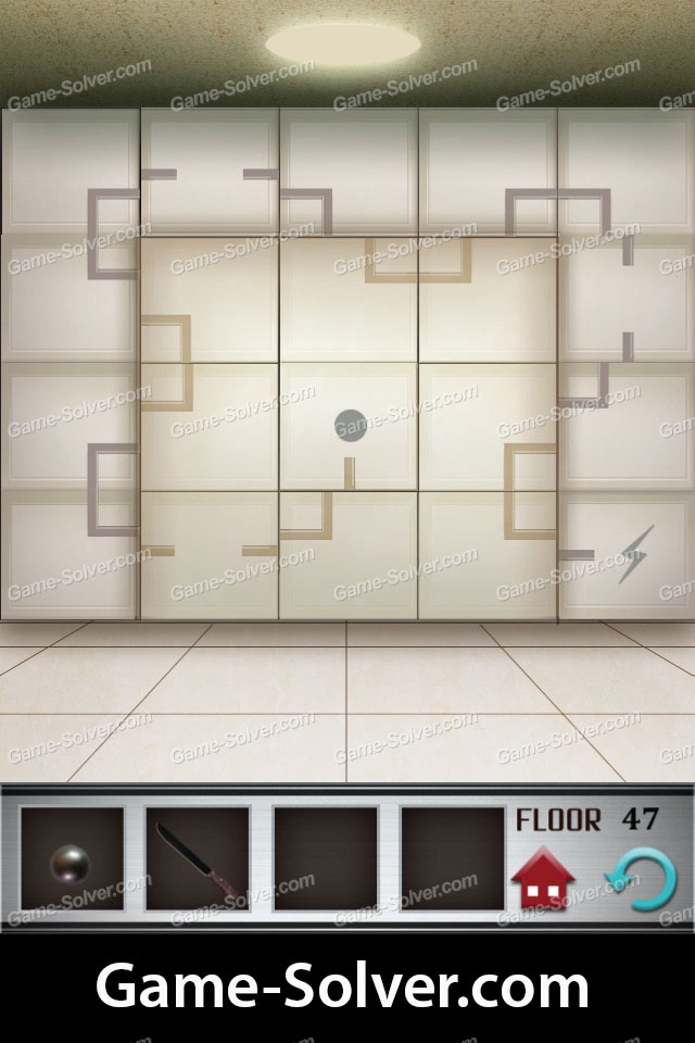 100 Floors Level 47 Game Solver