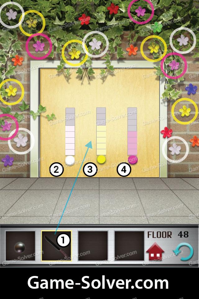 100 floors level 48 game solver for 100 floors floor 100 walkthrough