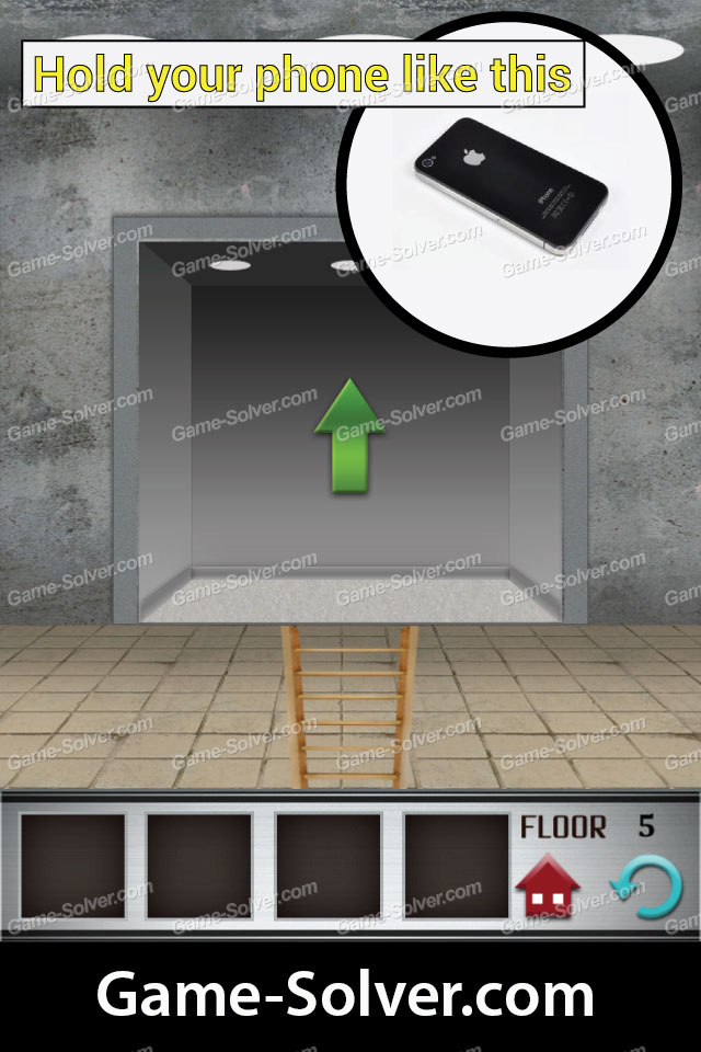 100 Floors Level 5 Game Solver