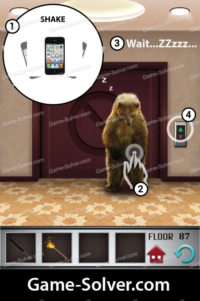 100 Floors Level 87 Game Solver